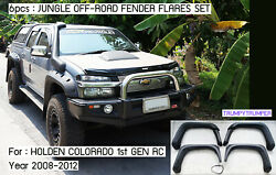 Jungle Off-road 4x4 Fender Flares Wheel Arch For Chevrolet Colorado Rc 2008-2012