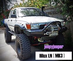 Off-road For Toyota Hilux Mk3 Ln105 Ln106 89-97 Ute Fender Flares Wheel Arch