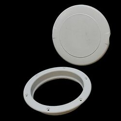 New Innovative Product Solutions 8 Artic White Boat Access Plate 505-303