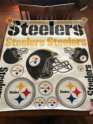 Nfl Pittsburgh Steelers Decal Stickers 3m Tailgate Skinit Packs