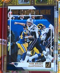 Tom Brady 2019 The Champ Is Here New England Patriots Last Card As Patriot