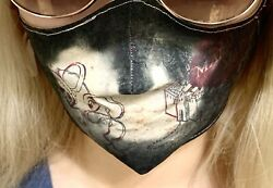 Marauders Map Color Changing Handmade Face Mask - 100% Cotton - Heat Activated $29.99