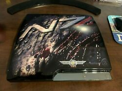 Rare Bioware N7 Playstation 3 Console Ps3 Giveaway Console Mass Effect