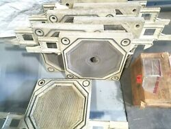 470 Mm Gasketed Filter Press Plates - Set Of 7 One Price Filterpress