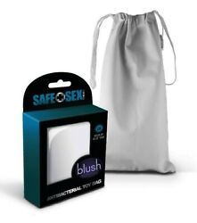 Safe Sex Antibacterial Toy Storage Bag with Drawstring Closure Large Single