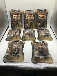 Lot Of 8 Disney Pirates Of The Caribbean Pirate Dead Man's Chest Autographed