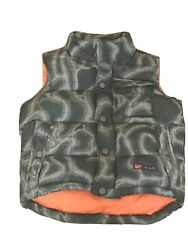 Gap Kids Camo Puffy Vest Toddler Boys Size XS 4 5 $14.00