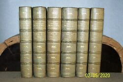 Second World War 6 Volumes Winston Churchill 1st Editions 1st Printing Leather
