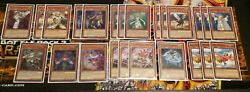40 Card Lightsworn Deck Includes Side Extra And All Sleeves