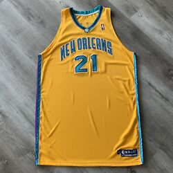 Team Issue Jamaal Magloire 2005-06 New Orleans Oklahoma City Hornets Jersey