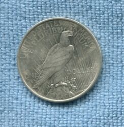 1922 Liberty Peace Silver Dollar United States Coin End Of World War I K-749