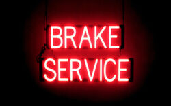 Spellbrite Ultra-bright Brake Service Neon-led Sign Neon Look, Led Performance