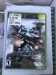 Gunmetal Original Xbox Complete Game From Mech To Jet And Back Teen Shooter New