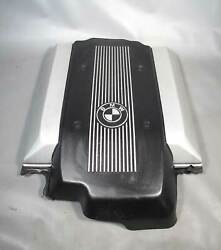 Bmw E38 7-series V8 Engine Cover Sound Protection Barrier 1999-2001 Used Oem