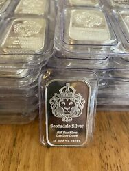 1 oz Silver Bar quot;The Onequot; by Scottsdale Silver .999 Fine Silver Mint Sealed $36.70