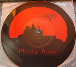 Nightfall–macabre Sunsets Holy Records Vinyl Lp Picture Disc France 1994 V.rare
