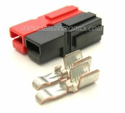 Anderson Powerpole Connector 45 Amp Red And Black Bonded Housings 50 Pack