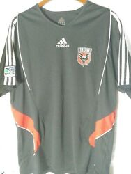 Rare No Tags Adidas Dc United Jersey Xl Size Extra Large Mls Soccer