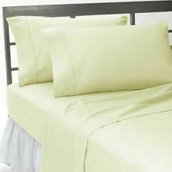 Best Bedding Set Ivory Solid Rv Camper And Bunk Bed All Sizes 1000 Tc Egypt Cotton