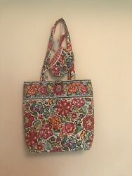 Retired Vera Bradley Tote Bag And Pouch Hope Garden Nwt