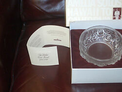 Holophane Verlys Of America - Rose Bowl - French Inspired -1984 - With Box