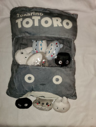 Totoro Bag Plush with Removable Plush $30.00