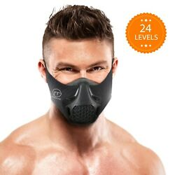 Fitgame Workout Mask   24 Breathing Resistance Levels - Fitness Mask   Training