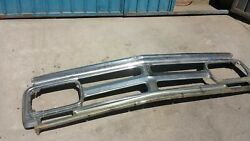 Moty0s 1969 Gmc Grille Chrome Chevy 69 Front 1970 70 71 72 Chevrolet 10 Pickup