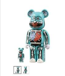 Ron English Be@rbrick 100 And 400 Limited Production By Zac Pac Bearbrick