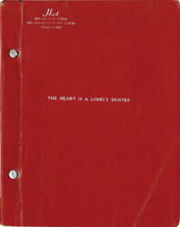 Heart Is A Lonely Hunter, The 1968 Signed Script And Photo Archive