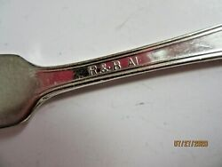 R Andb Silverplated Butter Knife Pat Date And Pattern Unknown Marked