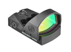 Sig Sauer Romeo1pro 1x30 Red Dot Sight - 6 Moa