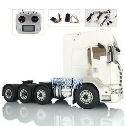 Lesu 1/14 Metal 88 Scania Chassis Hercules R730 Cab Tractor Truck Sound Radio