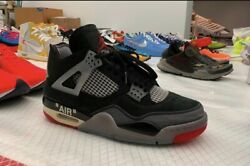 Off-white Bred 4 Preorder Size 11 Dswt Og All Comes 1 Month After Release