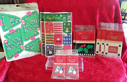 Hallmark Vintage Christmas Lot Of 11 Unopened Seals And Tags