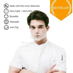510pcs Clear Transparent Reusable Adjustable Mouth Shield (Face Mask or Shield) $16.98