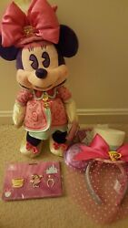 Minnie Mouse Main Attraction March Mad Hatter Tea Party Ears, Plush, Pins