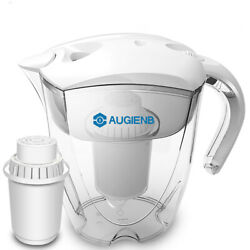 AUGIENB PH -ORP Alkaline Ionizer Water Pitcher Purifier With Filter -10 Cup