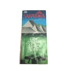 1989 Saratoga Race Course Racing Program Summer Squall Saratoga Special Pat Day
