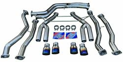 Full Track Performance Exhaust System For Bmw 2015-19 M3 F80 M4 F82 F83 S55 3.0l