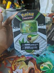 Snivy Bw Tin 2011 Factory Sealed 4 Vintage Boosters + Bw Preview Pack Pokemon