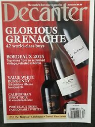Decanter Glorious Grenache Some Of The Worldand039s Best Wines