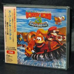 Cd Super Donkey Kong 3 Mysterious Cremis-original Soundtrack From Japan