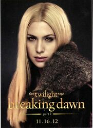 Sdcc 2012 Twilight Breaking Dawn Part 2 - Promo Card Kate