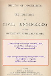 Progress Of Cable Motive-power. A Rare Original Article From The Institution Of