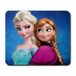 Elsa Anna Computer Wire Wireless Vibrant Gaming Mouse Pad