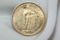 Vintage 1904 22k Solid Gold Hungary 10 Korona Coin Rare Collectible Currency