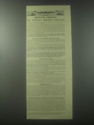 1954 Hoover Limited Ad - Company Meeting Hoover Limited. All Previous Records