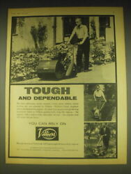 1962 Villiers Advertisement - Cultivators, Motor Mowers, Rotary Grass Cutters