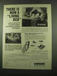 1975 Craftmatic Adjustable Living Beds Ad